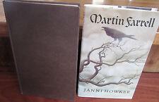 Martin Farrell by Janni Howker. 1st HbDj Julia MacRae London 1994  In Melbourne!