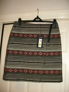 LADIES M&S GORGEOUS  MINI LINED SKIRT SIZE 12
