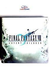 Final Fantasy Advent Children Press Kit CD Prensa Mint Unpublished Material