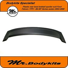 Plastic Made Rear Boot Bobtail Spoiler Wing For Ford Falcon FPV BA BF 2002-2008