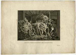 Antique Print-ADAMITES-ADAMIANS-NAKED-CHRISTIAN SECT-PROOF-Picart-c. 1780