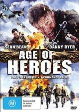 AGE OF HEROES - SEAN BEAN -  NEW & SEALED REGION 4 DVD