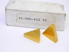 New Surplus 10pcs Generic Tpg 432 Grade Ti Carbide Inserts