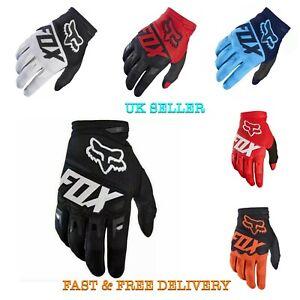 Fox Dirtpaw Gloves Cycling Motorcross Bike BMX mtb Gloves