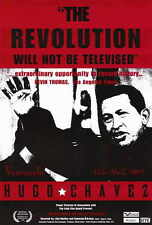 THE REVOLUTION WILL NOT BE TELEVISED Movie POSTER 27x40 Hugo Chavez Pedro