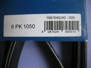 BOSCH Keilrippenriemen  6PK1050 1987946240  Audi Opel Seat Skoda Toyota VW