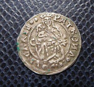 HUNGARY / FERDINAND I. / SILVER DENAR / 1529 C - Lily / Kosice - Kassa