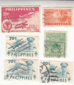 Philippines 1950-1960. Airmail. Lt. Cesar Fernando Basa. Used