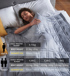 Haus Projekt Warm WEIGHTED BLANKETS Sleep Anxiety STRESS RELIEF Sensory Therapy
