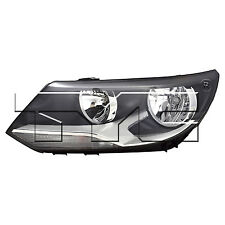 TYC Left Side Halogen Headlight Assembly For VW Tiguan 2012-20017 Models