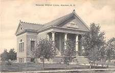 Aberdeen South Dakota Alexander Mitchell Library Antique Postcard K21299