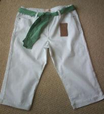 Women's White Capri Length Jeans Size 16 BNWT