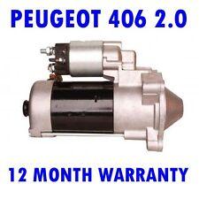 Peugeot 406 2.0 2.2 2000 2001 2002 2003 2004 Remanufacturado Motor de Arranque
