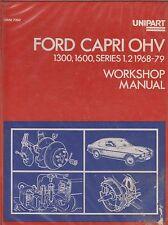 FORD CAPRI MK1 & MK2 1300 OHV & 1600 OHV ( 1968 - 1979 ) OWNERS WORKSHOP MANUAL