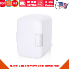 4L Mini Refrigerator Low Noise Cooler & Warmer Car or Household Dual Use Fridge
