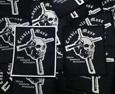 "Candlemass High Quality Woven ""Epicus Doomicus Metallicus"" Patch"