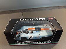 Brumm 1/43 Porsche 917 K Le Mans 1970 Gulf