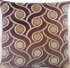 Velvet Geometric Square Contemporary Decorative Cushions