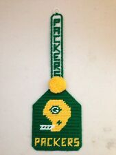 NFL Green Bay Packers Hand Knitted Plastic Flyswatter Wall Hang Home Décor