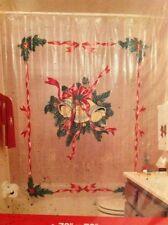 holiday shower curtains | ebay