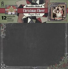 """""""Christmas Cheer"""" Double-Sided Paper Pack - Hot Off The Press"""