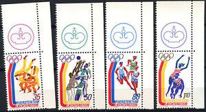 Liechtenstein 1976 SG#636-9 Olympic Games MNH Set #E5746