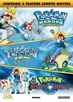 Nuovo Pokemon - The Movie Collection (3 Film) DVD Regione 2