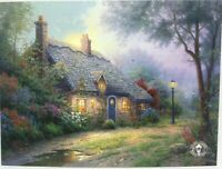 "Thomas Kinkade Dealer Postcard ""Moonlight Cottage"" Lot of 10 Art Cards"