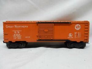 "POSTWAR LIONEL 6464-25 GREAT NORTHERN  ""SEE AMERICA FIRST"" BOX CAR"
