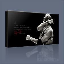 MICHAEL JORDAN NBA BASKETBALL LEGEND ICONIC CANVAS ART PRINT PICTURE ArtWilliams