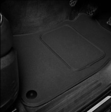 High Quality Car Floor Mats Set In Black/Black To Fit Toyota IQ (2008-2016)