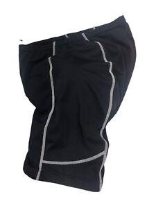 Primal Wear Women's Black Cycling Bike Shorts Padded Ladies Size XXL