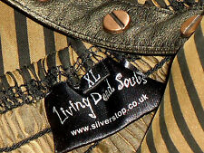 LIVING DEAD SOLES StrappySteampunkPartyMiniSzXL orp£70