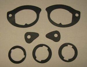 NEW 1968-1972 Chevy Nova Outside Door Handle And Lock Gasket Set