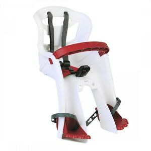 Bellelli Tatoo Plus Front Child Carrier Front Mount 26`/27.5`/700C White/Red