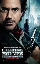 SHERLOCK HOLMES A GAME OF SHADOWS Movie Promo POSTER Robert Downey Jr.