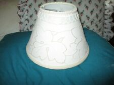 NEW  CLIP Lampshade VINTAGE MADEIRA FABRIC LAMINATED