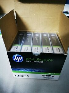 HP  LTO-4 ultrium RW 1.6 TO X5 NEW!