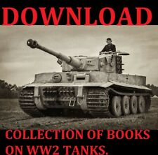 COLLECTION OF BOOKS ON WW2 TANKS DOWNLOAD