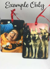 Car Air freshener Personalised photo / christmas / many scents to choose from