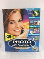 Nova Development Photo Explosion Deluxe picture editing software pc PHOTO STUDIO