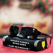 Men Women Khan Designer Cycle Bike Sports Fashion Sunglasses Black/Red Logo