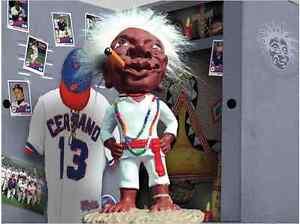 JOBU Exclusive Major League Figure NEW Cleveland Indians Figurine Not Bobblehead