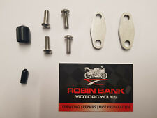 PAIR EGR Blanking Kit Suzuki GS500 performance upgrade