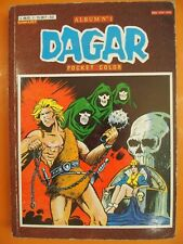 Dagar album N° 1 du 09 et 11/1982 . Comics Pocket Arédit Color