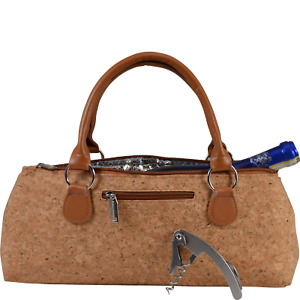 Wine Clutch Bag Thermal Insulated Incl Portable Waiter-Style Corkscrew
