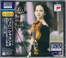 Hilary Hahn: Bach solista Violin partita 2 3 Sonata 3 Sony Japan BSCD 2 BLU-spec CD