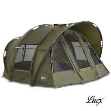 2 & 3 Mann Angelzelt / Lucx® Karpfenzelt / Leopard Bivvy Dome / Carp Tent / Neu