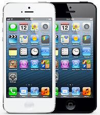 APPLE IPHONE 5 16GB / 32GB / 64GB IN WEISS & SCHWARZ - OHNE SIMLOCK - FACHHANDEL