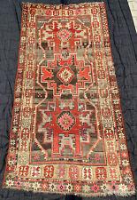 antique tapis caucasien Shirvan Lesghi star Caucasian rug dated 1918, 186x126 cm